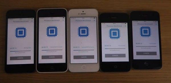 Тесты производительности iPhone