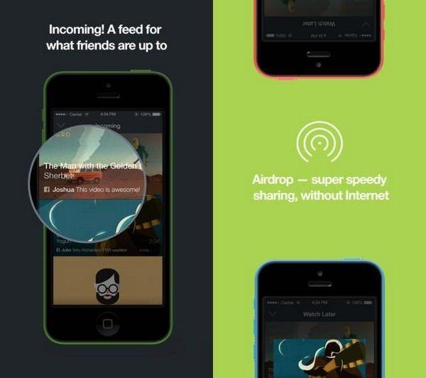 Vimeo появилась функция обмена AirDrop