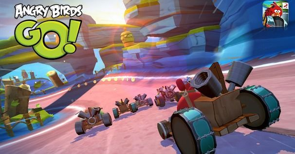 Angry Birds Go для iPhone и iPad
