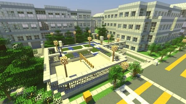 Копия штаб-квартиры Apple появилась в игре Minecraft