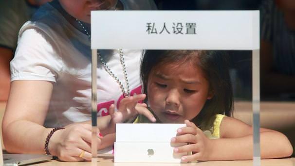 iPhone 5s и iPhone 5c в China Mobile