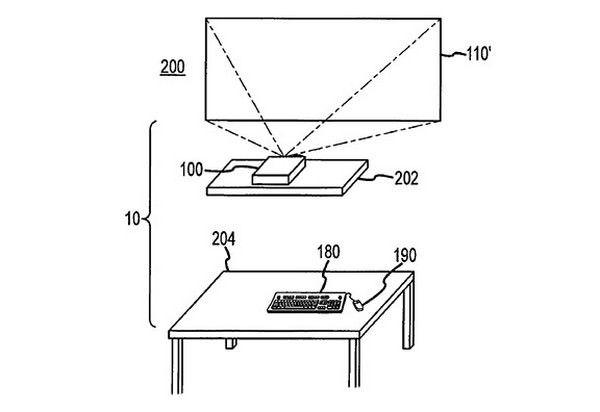 Apple запатентовала «бесстольный компьютер»