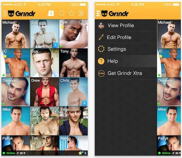 Grindr для iPhone и iPad