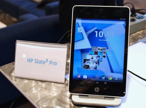 Планшет от HP Slate8 Pro