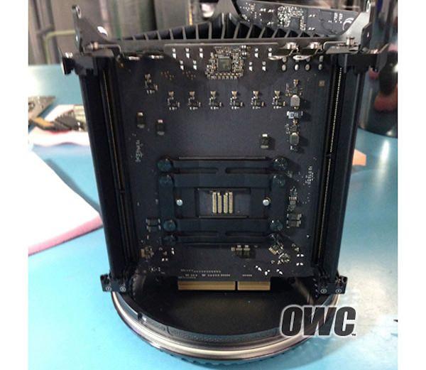 демонтаж Mac Pro 2013