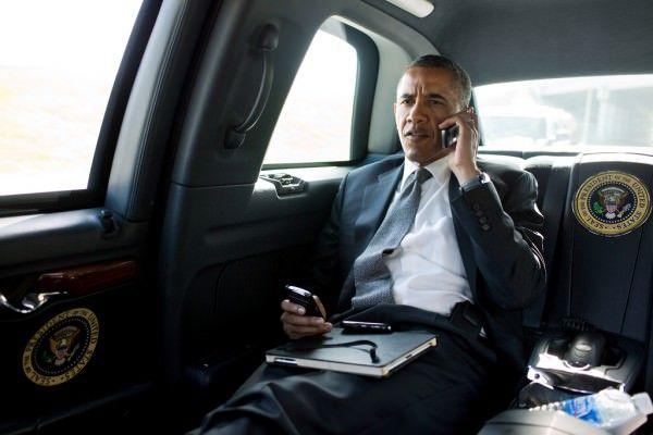 Obama и девайсы