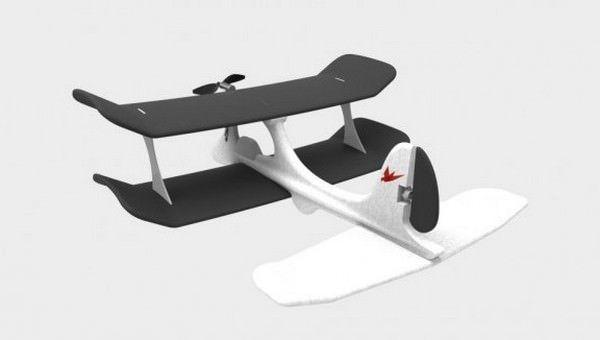 SmartPlane – игрушечный самолетик для iPhone