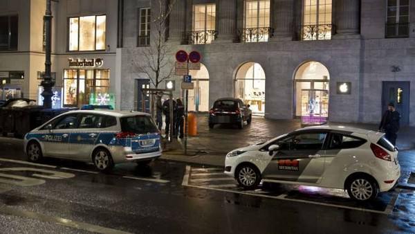 Берлинский Apple Store