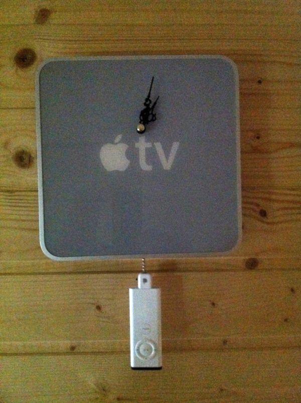 Часы из Apple TV