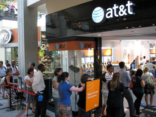 как в AT&T торгуют демо-версиями iPad
