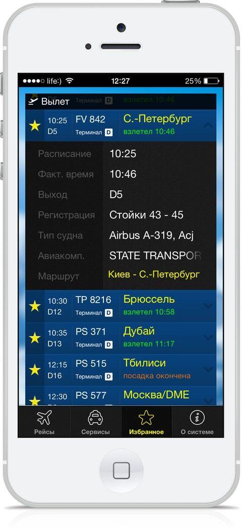 Борисполь - вся информация главного аэропорта Украины