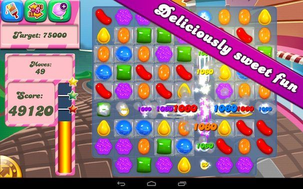candy crush saga google play