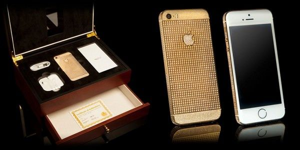 Goldgenie выпустила золотой iPyone 5s Supernova