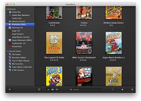 OpenEmu – эмулятор игровых консолей
