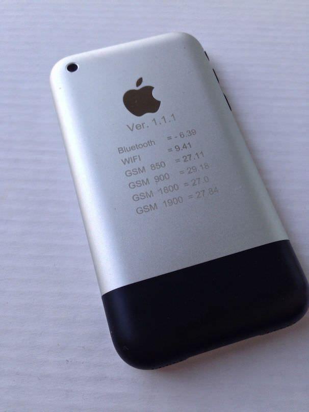 прототип iPhone 2g original 2007 года выпуска