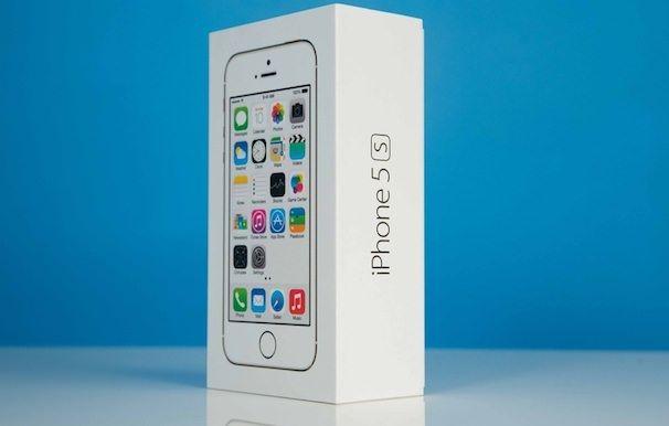 iphone 5s коробка