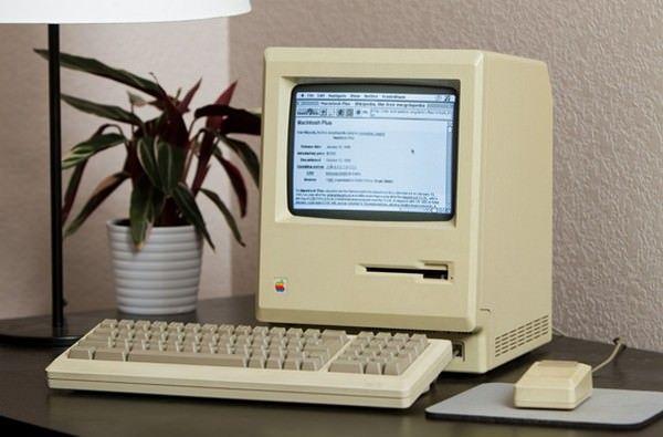подключиться к Интернет на 27-летнем Mac Plus