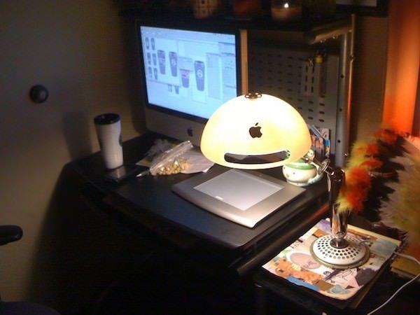 Лампа из Mac