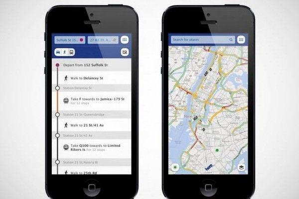 Nokia удалила свой картографический сервис