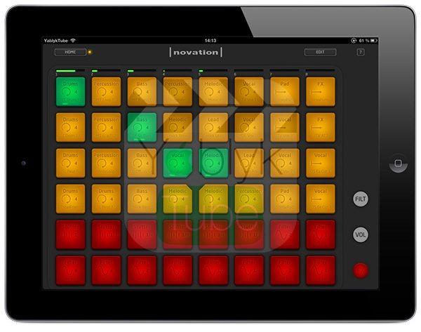 Novation LaunchPad для iOS