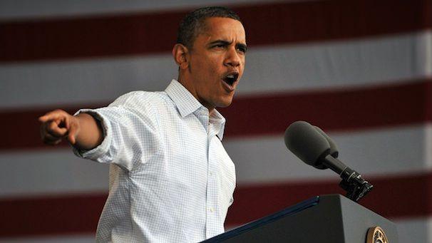 US President Barack Obama makes remarks