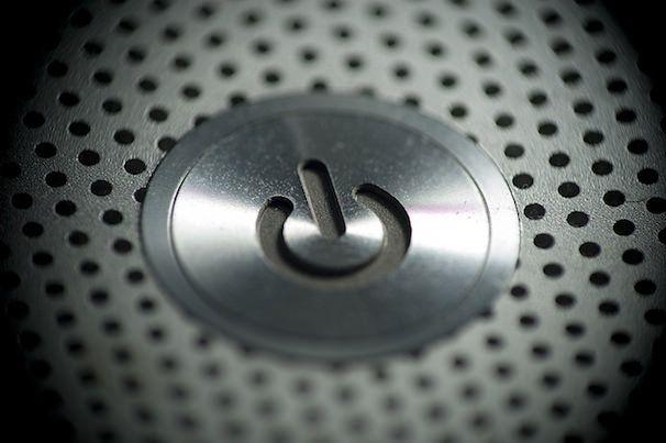 кнопка включения mac