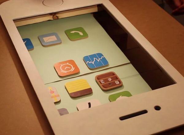 Студенты воссоздали дизайн iOS