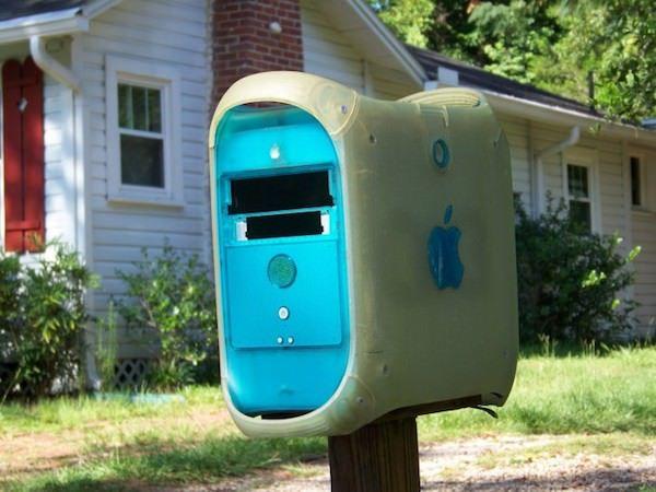 почтовый ящик из Mac Pro