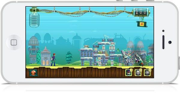 """Робики: миссия КСУ"" - аркада-головоломка для iPhone и iPad"