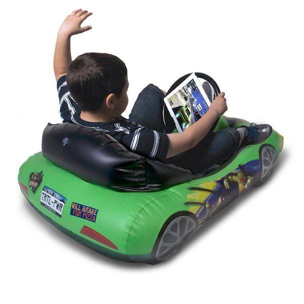 teenage muutant ninja turtles sports car for iPad