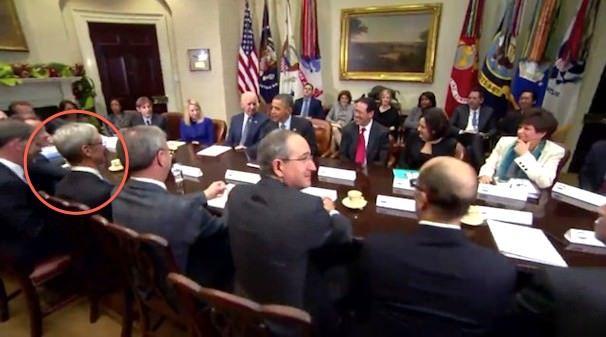 Тим Кук на встрече с Бараком Обамой