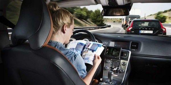 Робомобили от Volvo появятся на дорогах