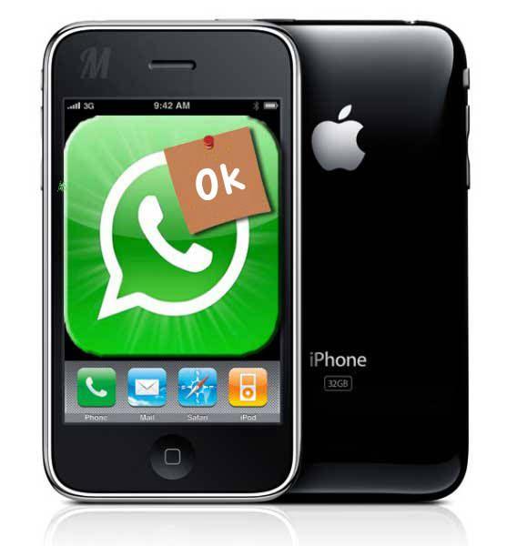 whatsapp iPhone 3Gs