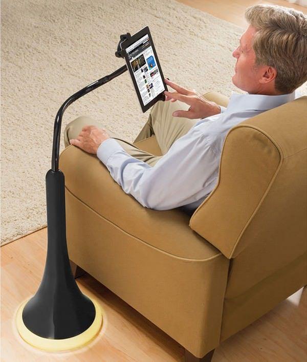 универсальная подставка-светильник для iPad