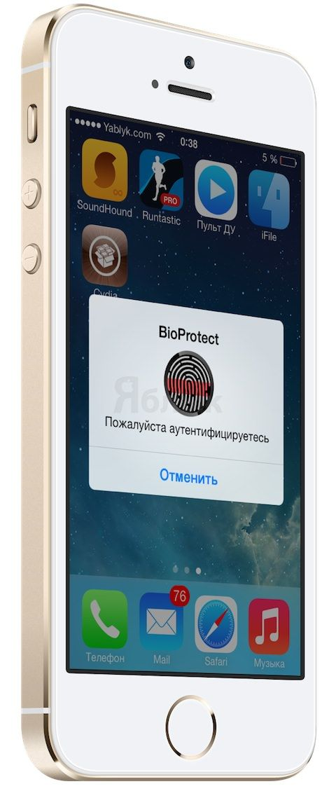 BioProtect iPhone 5s touch id