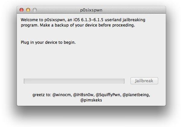 Джейлбрейк iOS 6.1.3 - 6.1.5
