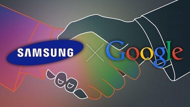 Samsung и Google обменялись патентами
