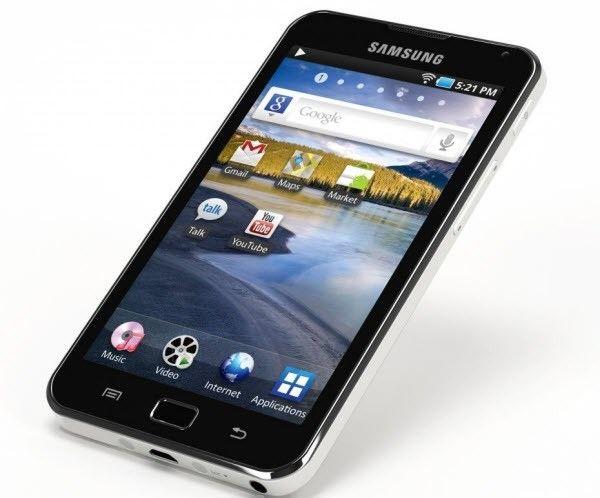 четыре смартфона Galaxy 5