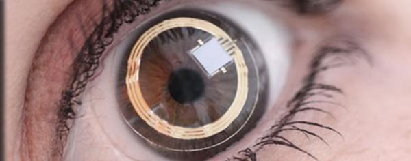 Google оснастит «умные» контактные линзы датчиками