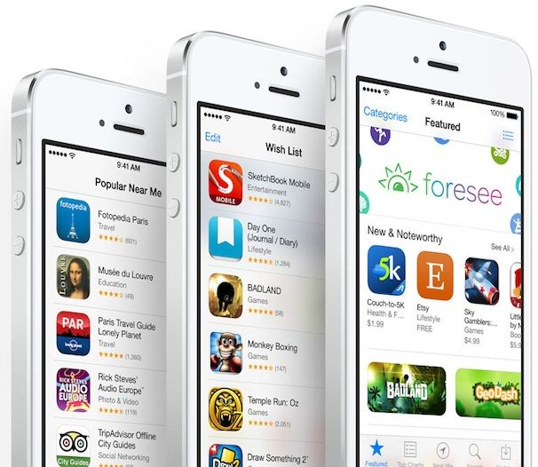 app store record iPhone 5s