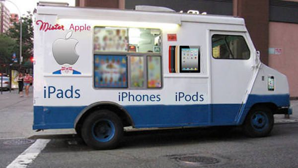 грузовик apple