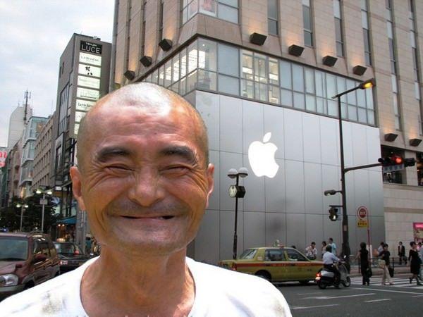 Apple скатилась на пятое место