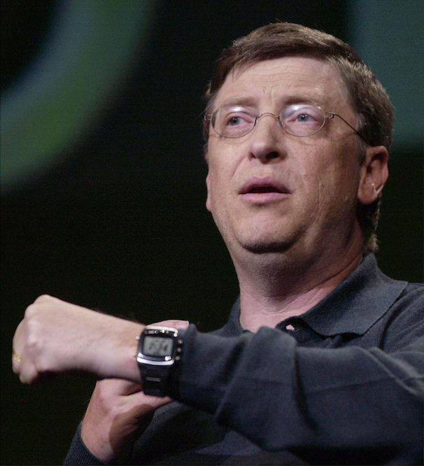 Билл Гейтс на CES 203