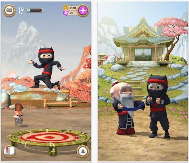 clumsy ninja для iPhone