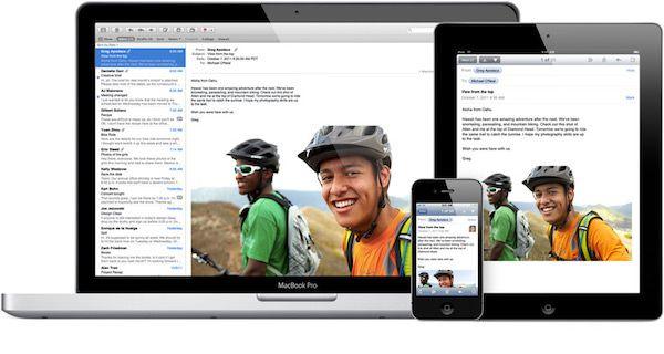 Почта iCloud для iPhone, iPad и Mac