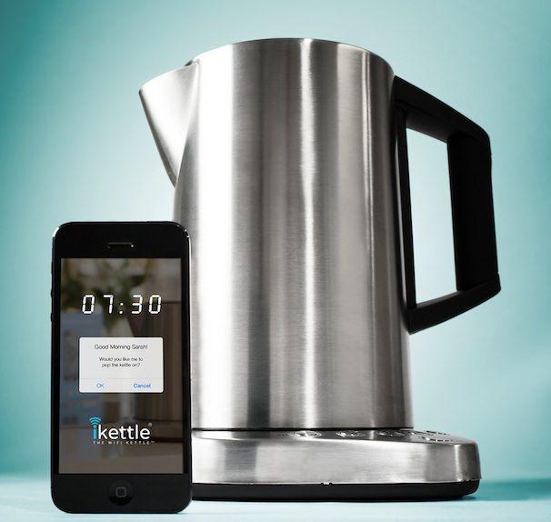 ikettle чайник с дистанционным управлением с iPhone
