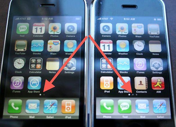 индикатор страниц в iOS