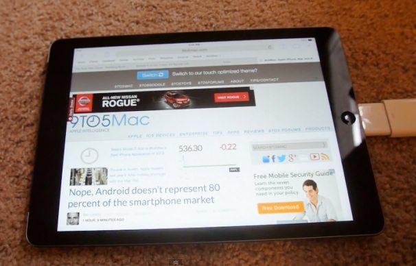 Интернет для iPad через ethernet