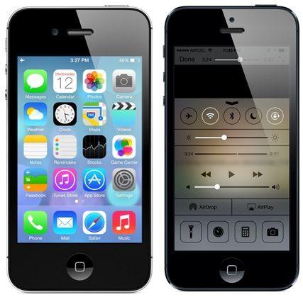 iphone 4 iOS 7