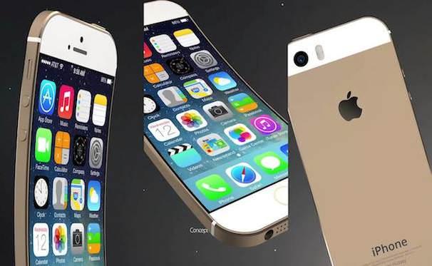 изогнутый iPhone 6